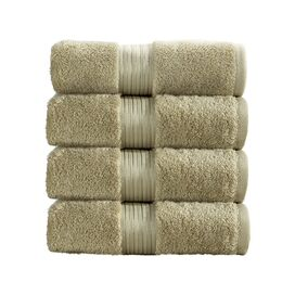 Christy Elegance Hand Towels in Bamboo (Set of 4)