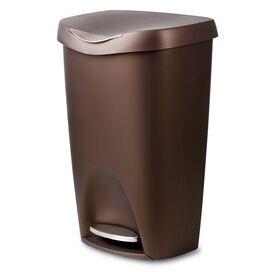 Step Trash Can in Nickel