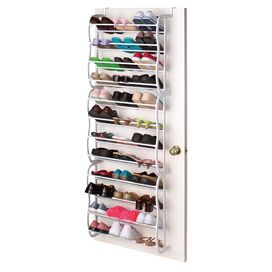 36-Pair Over-Door Shoe Rack