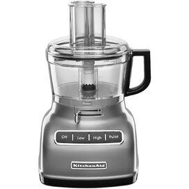 KitchenAid Food Processor in Contour Silver