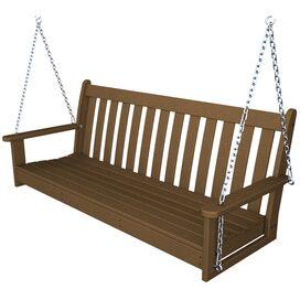Vineyard Porch Swing in Teak