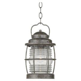 Beacon Patio Hanging Lantern in Brass Flint