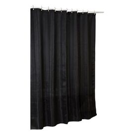 Laguna Shower Curtain in Black