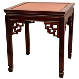 Xing Side Table in Cherry