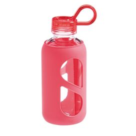 Silicone Water Bottle in Pink