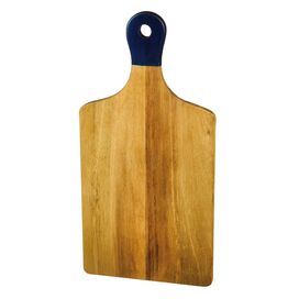Trina Acacia Cutting Board in Blue