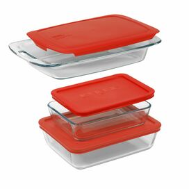Pyrex 6-Piece Bakeware Set