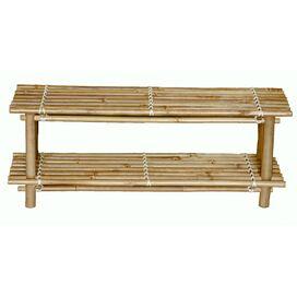 Bamboo Shoe Rack