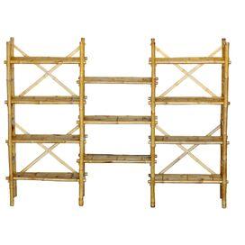 Kara Bamboo Bookshelf