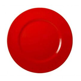 Calypso Picnic Dinner Plate in Red (Set of 6)