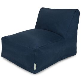 Tisbury Indoor/Outdoor Lounger in Navy Blue