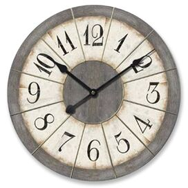 "Oversized 23"" Louvre Oversized Wall Clock"
