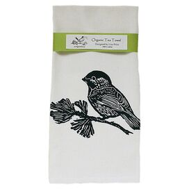 Chickadee Tea Towel