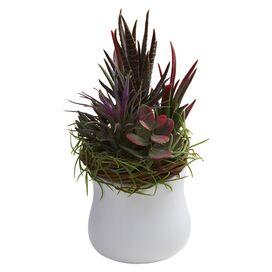 Faux Mixed Succulent (Set of 2)