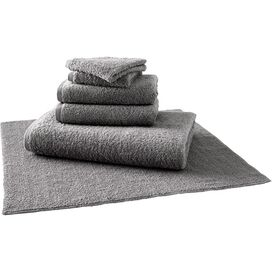 Egyptian Cotton Towel Set in Charcoal