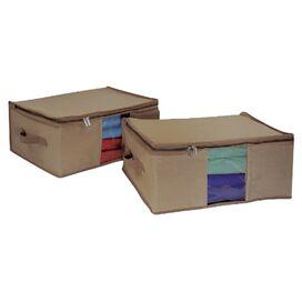 Canvas Storage Bag (Set of 2)
