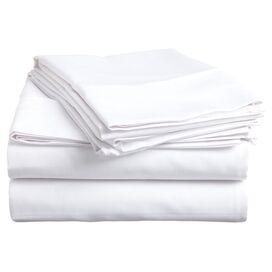 Colleen Egyptian Cotton Sheet Set in White
