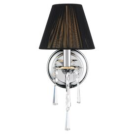 Natalie Wall Sconce in Black