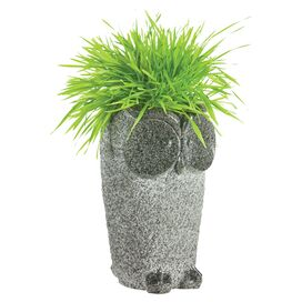 Bowing Owl Planter