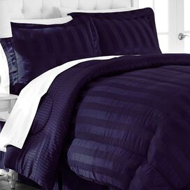 Demetra Comforter Set in Blackberry Wine