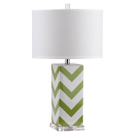 Maria Table Lamp in Green (Set of 2)