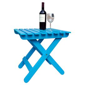 Eastwood Patio Accent Table in Turquoise