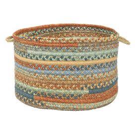Olivera Utility Basket in Vintage Blue