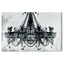 Dramatic Entrance Canvas Print in White