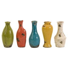 5-Piece Mercade Vase Set
