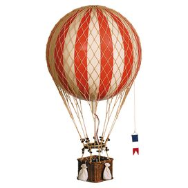 Franco Hot Air Balloon Decor in Red