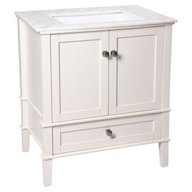 "Chelsea 24"" Bathroom Vanity in White"