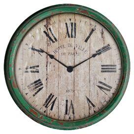 Brad Wall Clock
