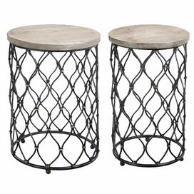 2-Piece Olympia Nesting Table Set