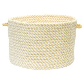 Marta Utility Basket in Lemon