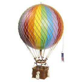 Franco Hot Air Balloon Decor in Rainbow