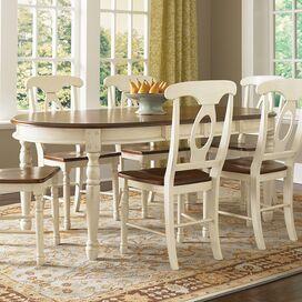 Allegra Dining Table in Buttermilk