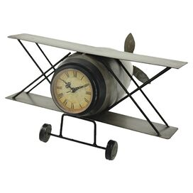 Airplane Table Clock