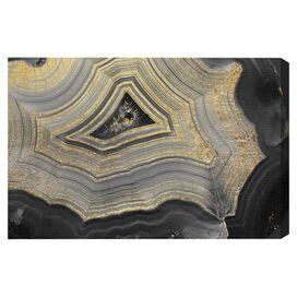 Dubbio Geode Canvas Print, Oliver Gal