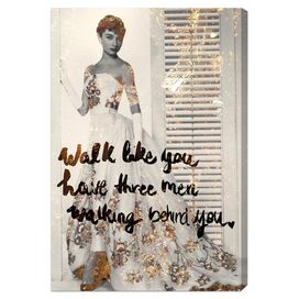 Walk Like You Have Canvas Print, Oliver Gal