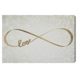 Sparkle Love Canvas Print, Oliver Gal