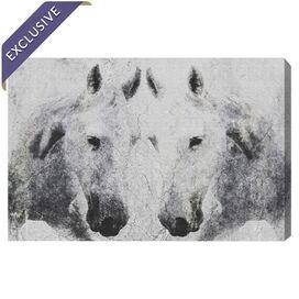 Equus Platinum Canvas Print, Oliver Gal