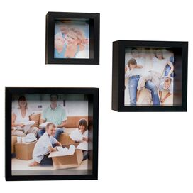 3-Piece Cube Picture Frame Set
