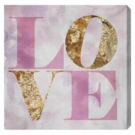 Love Pastel Canvas Print, Oliver Gal