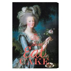 Eat Cake Canvas Print, Oliver Gal