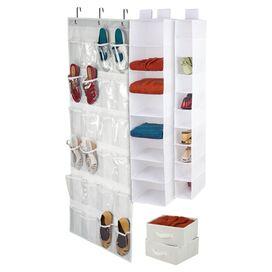 4-Piece Hanging Organizer Set