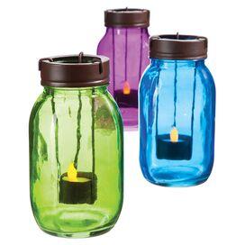 Mason Jar Candleholder (Set of 3)