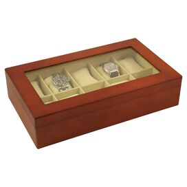 Farthing Watch Case in Brown