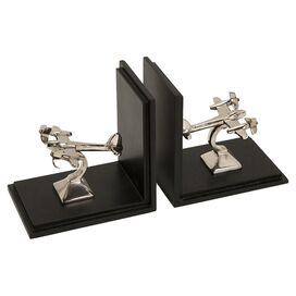 Aviator Bookends