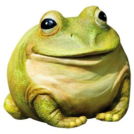 Singing Bullfrog Indoor/Outdoor Statuette