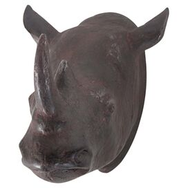 Charging Rhino Wall Decor